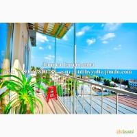Сдам 2к. квартиру над пляжем, с панорамным видом на море, недорого, для 4 ч