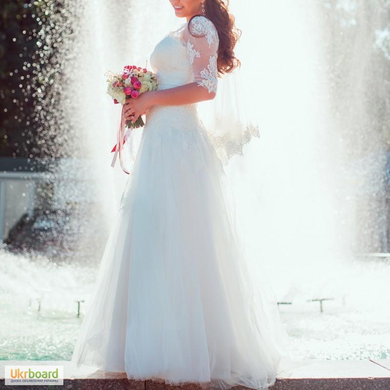 Свадебное платье купить бу