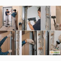 Как правильно установить металлическую дверь