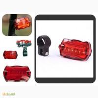 Мигалка (стоп) фонарь для велосипеда три вида и на солнечных батареях