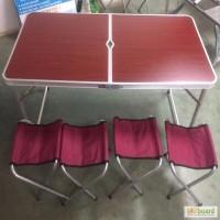 Складной туристический набор мебели FTS1-4, кемпинговая мебель