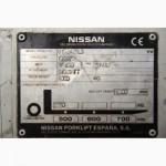 Погрузчик вилочный Nissan, газ, 2.5т., 2008г., каретка, свободный ход