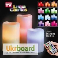 Электронная свеча с пультом Luma Candles Люма Кендле