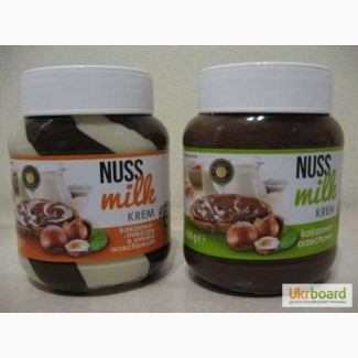 Шоколадная паста Nuss Milk, 400 мл