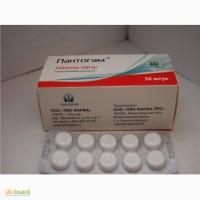 Пантогам (гопантеновая кислота) по 500 мг таблетки 50. Пик-Фарма (Россия)