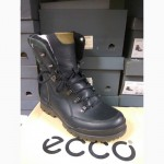 Распродажа! Высокие зимние трековые ботинки ECCO gore-tex