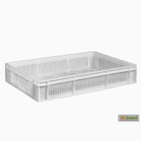 Пищевой пластиковый ящик 600х400х110