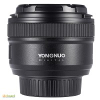 Объектив линза Yongnuo YN 50mm F1.8 Nikon Canon