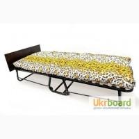 Раскладная кровать на ламелях «БЕРТА» с подголовником