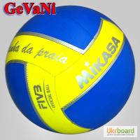 Мяч волейбольный (пляжный) Mikasa VXS-RDP1