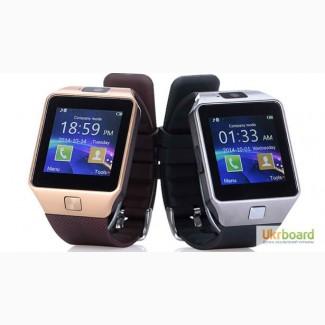 Умные Smart Watch DZ09 все в одном: часы, телефон и фитнес браслет