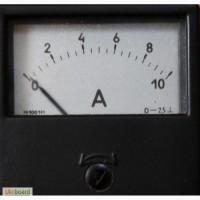 Амперметр 10А/шунт встроенный / к зарядному устройству.60х60 мм