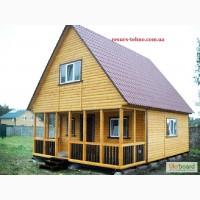 Дачные домики недорого, быстрой сборки на заказ
