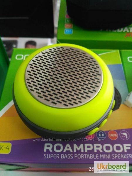 Фото 5. Мини Bluetooth колонка Переносная компактная Remax RB-X1 Путешествуй с нами