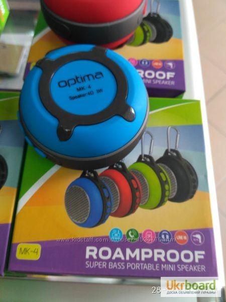 Фото 8. Мини Bluetooth колонка Переносная компактная Remax RB-X1 Путешествуй с нами