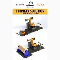 Промышленный робот KUKA для 3Д фрезерования