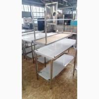 Мойка б/у и новые нержавеющие столы производственный зонты нержавейка кафе РАСПРОДАЖА