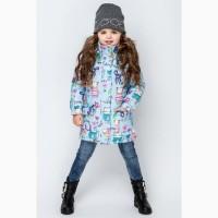 Новинка Демисезонная курточка для девочки vkd-1 92-122 р разные цвета