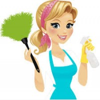 На квартиру и в салон требуется уборщица