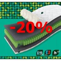 Матрас SleepFly Organic Omega. Акция -20%! Подарки и доставка