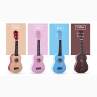 Гавайская гитара IRIN + Подарки • Скидка 35 % • Укулеле Сопрано •