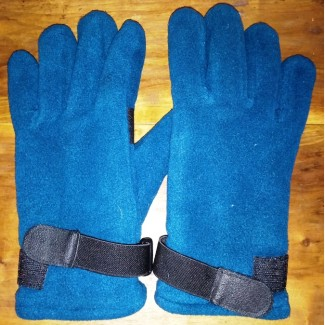 Флисовые перчатки, двойные