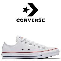 Кеды Converse All Star Белые Кожаные Конверсы 132173C