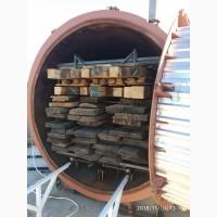 Термическая обработка древесины (термомодификация)