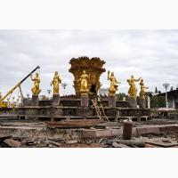 Проектирование и строительство фонтанов в Украине под ключ