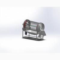 Роторный калибратор для сортировки зубчиков чеснока