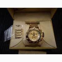 Швейцарский хронограф часы INVICTA SUBAQUA NOMA III 16695 для дайвинга 500 метров Оригинал