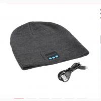 Bluetooth шапка беспроводные наушники гарнитура с микрофоном