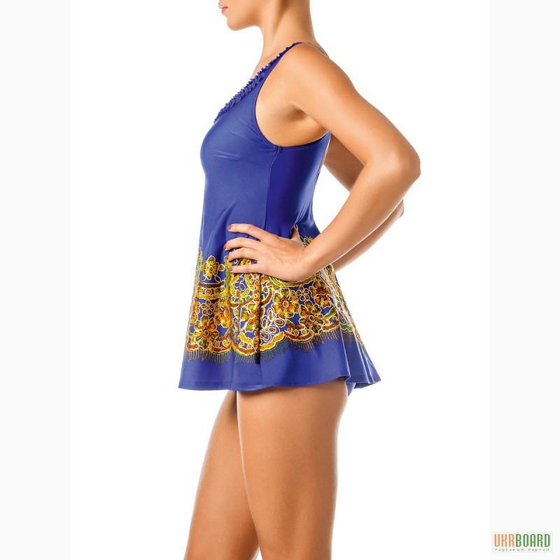Платье Купальник Для Полных Женщин Купить