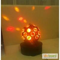 Світлодіодний міні-проектор для вечірок LED Crystal Magic Ball Light