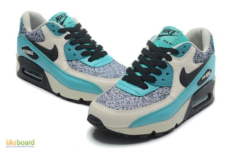 c4635559 Продам/купить женские кроссовки Nike Air Max 90 серо-бирюзовые, Киев ...