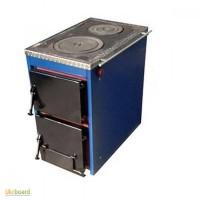 Котел твердотопливный Корди 16 кВт, с плитой, 2 в 1