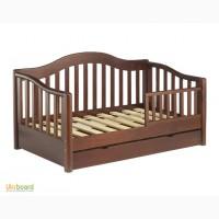 Кровать односпальная деревянная / К1-12