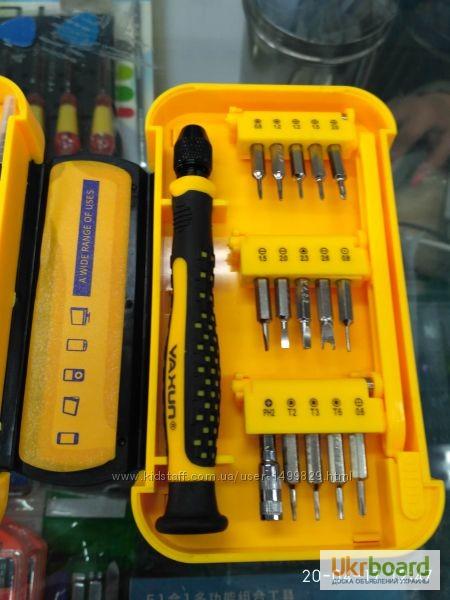 Фото 3. Набор инструментов YX-6029A отвертки iPhone iPad Набор новый в розничной упаковке