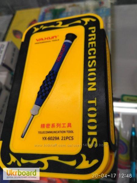 Фото 4. Набор инструментов YX-6029A отвертки iPhone iPad Набор новый в розничной упаковке