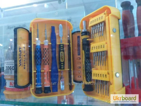 Фото 7. Набор инструментов YX-6029A отвертки iPhone iPad Набор новый в розничной упаковке