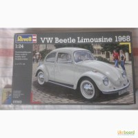 VW Beetle Limousine 1968 (Фольксваген Жук лимузин) Revell 07083 1:24