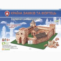 Луцкий замок конструктор из керамических кирпичиков