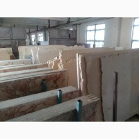 Слябы импортного мрамора 450 шт - распродажа недорого (Испания, Индия, Пакистан, Турция