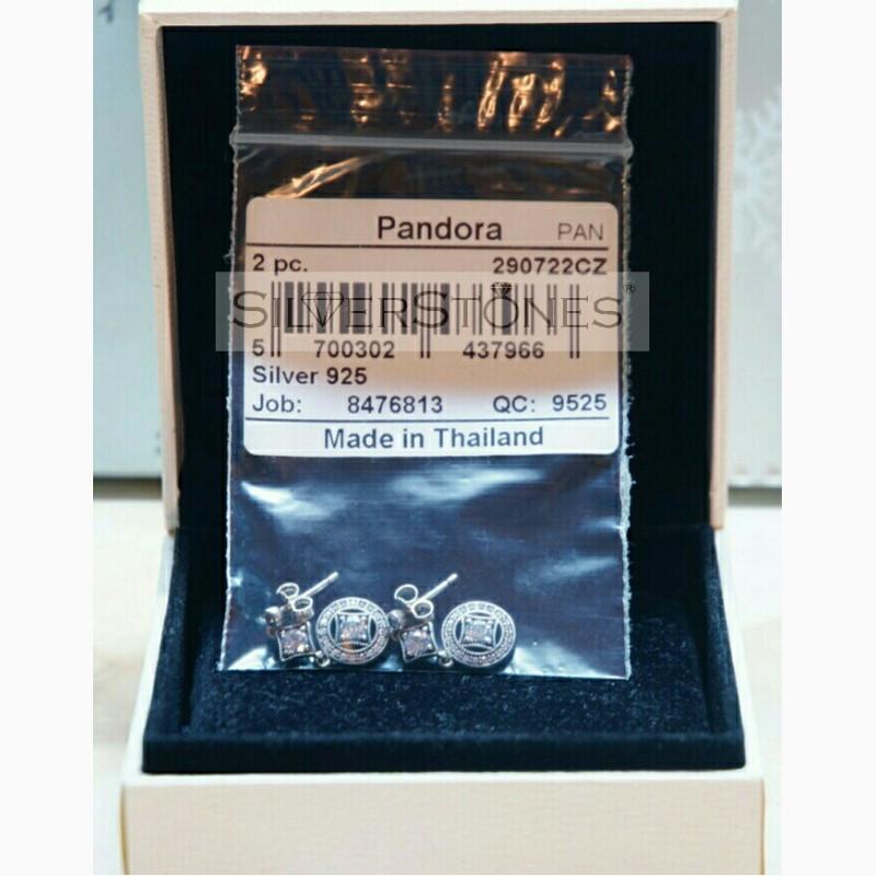 Фото 3. Оригинал Pandora Пандора серьги Vintage Винтаж арт. 290722CZ