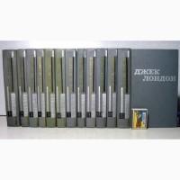 Джек Лондон Твори в 12 томах 1969 Собрание сочинений укр яз