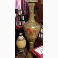 Ваза напольная 145 см.Ручная роспись керамики в Греческом стиле