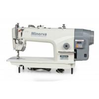 Minerva M818-JDE Одноигольная прямострочная швейная машинка