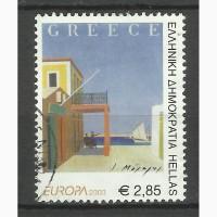 Продам марки Греции (Искусство)