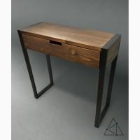 Стол консольный стиле Loft. Лофт мебель Консоль