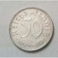 Монета. Германия - Третий рейх 50 рейхспфеннигов, 1942